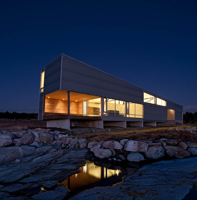Sunset Rock House Modern Exterior Other By Mackay