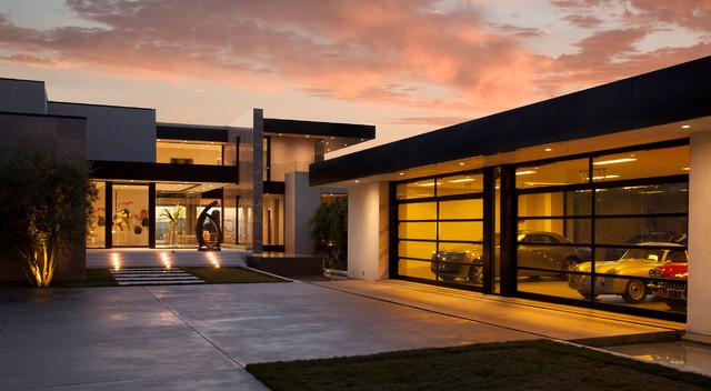 Sunset Strip contemporary-exterior