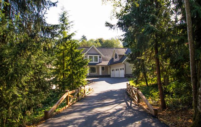 Surrey House Design traditional-exterior