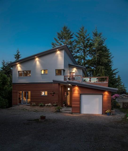 Surrey Passive House Canada Contemporary Exterior Vancouver By Marken Design Consulting