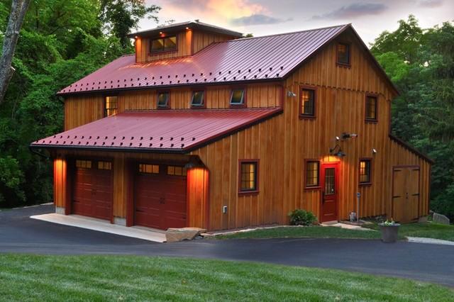 Sustainable barn renovation farmhouse exterior for Renovating a barn into a house