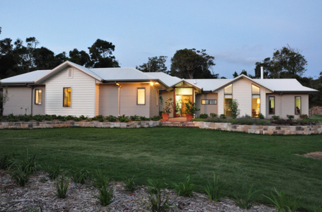sustainable design residential building minimalistisch