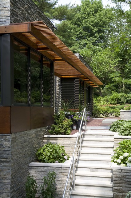 Sustainable Long Island Residence contemporary-exterior