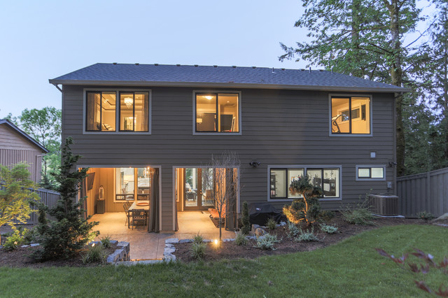 Sw Pdx Custom Home Eclectic Exterior Portland By