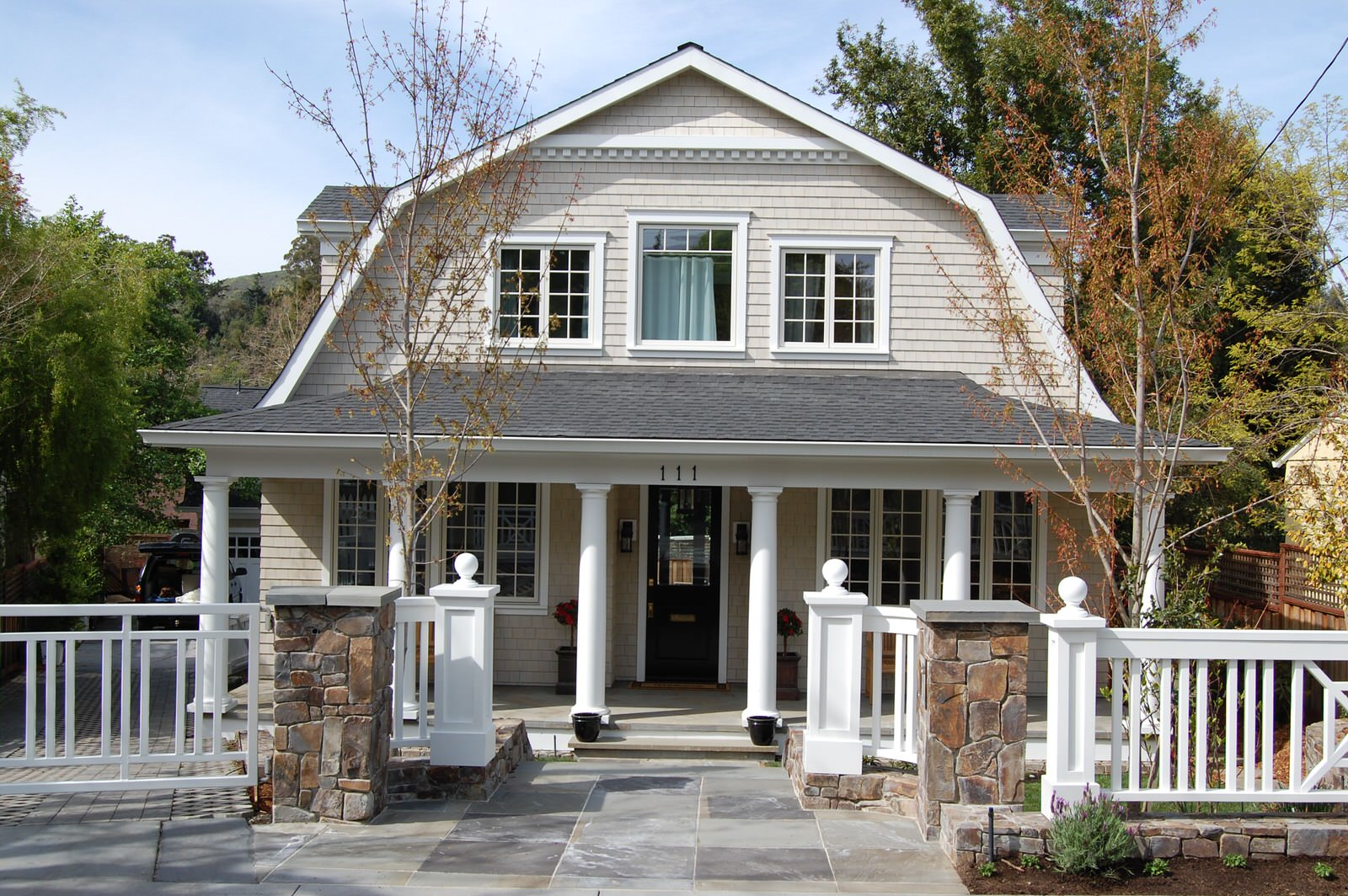 Sycamore Park Gambrel Roof Shingle Style