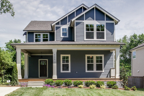 Farmhouse exterior by nashville interior designers amp decorators