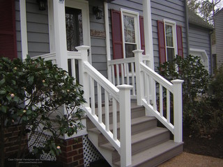 Synthetic And Vinyl Decks Stairs And Railings