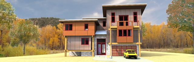 T5 - TCI Lane Ranche contemporary-exterior