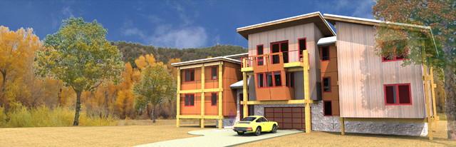 T6 - TCI Lane Ranch contemporary-exterior