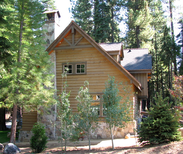 Tahoe Cabin traditional-exterior