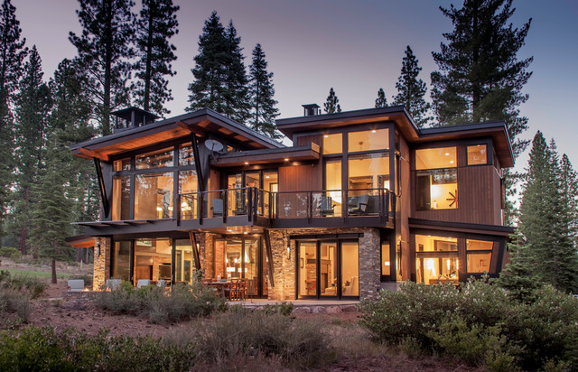 Tahoe contemporary contemporary exterior sacramento for Tahoe architects