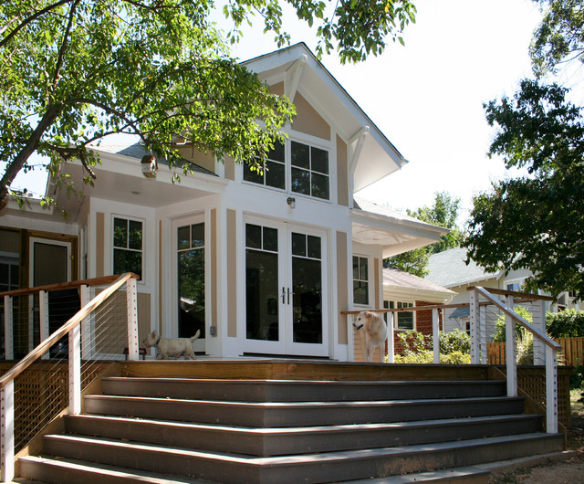 Takoma Park family room addition craftsman-exterior