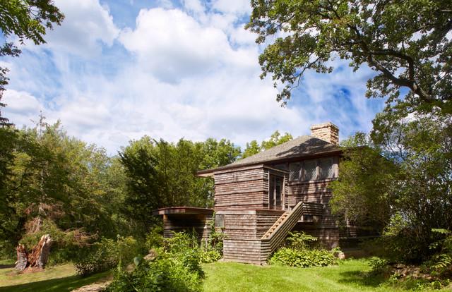 Taliesin Frank Lloyd Wright Craftsman Exterior By