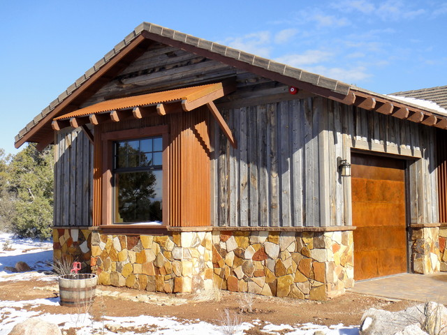Talking Rock Ranch rustic-exterior