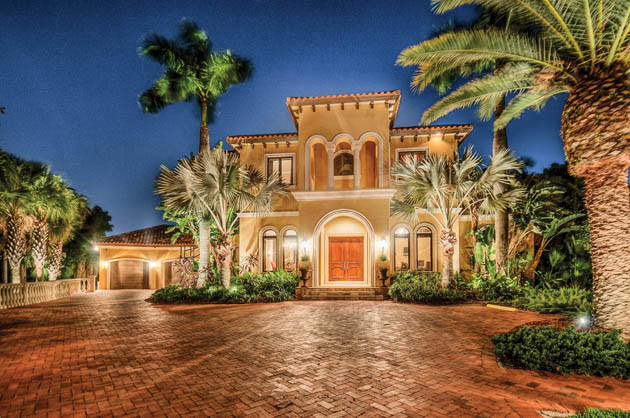 Tarpon Springs Resort Inspired Home Mediterranean