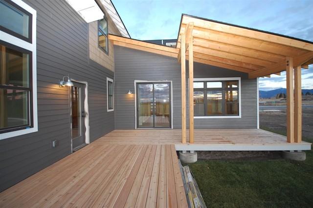 Taunya Fagan Bozeman Homes New Construction Loyal Garden contemporary-exterior