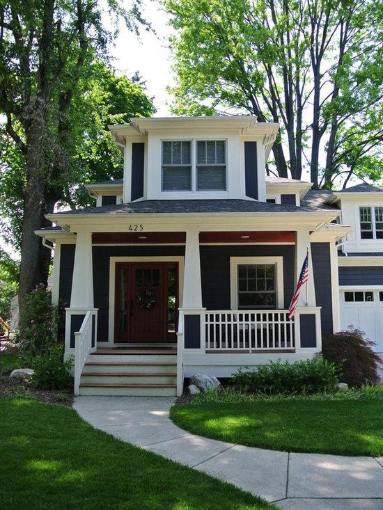 Craftsman Traditional Window Casing Home Design, Photos & Decor Ideas