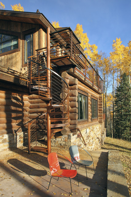 Telluride Houses Rustic Exterior Denver By