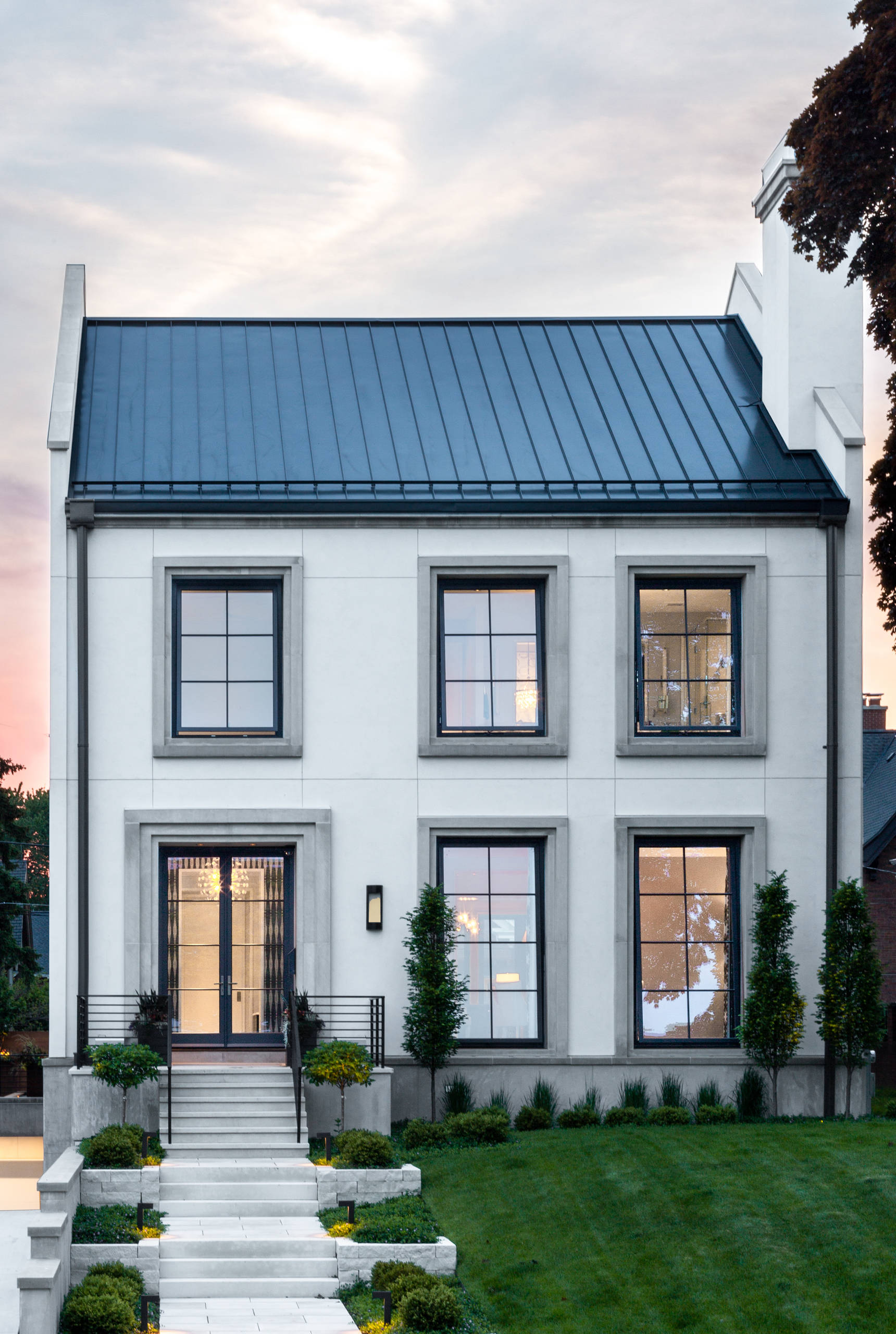 75 Beautiful Contemporary Gable Roof Pictures Ideas October 2020 Houzz