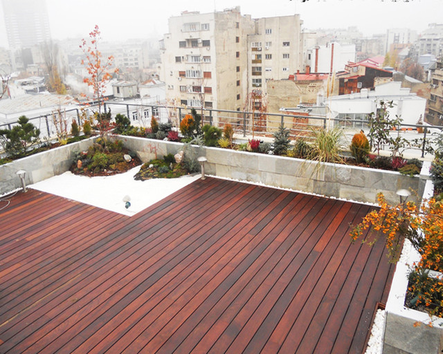 Terrace Building Design terraces garden design - modern - exterior - other -matei liviu