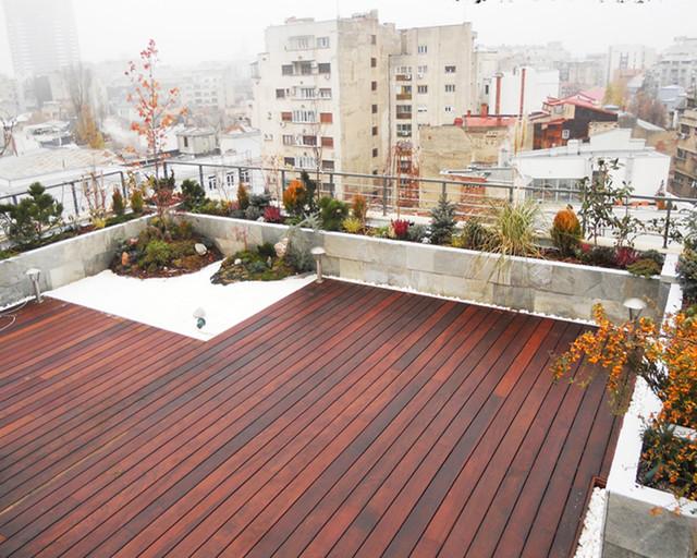 Terraces garden design modern exterior other by for Terrace exterior design