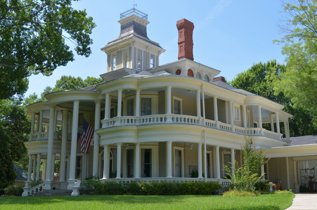 Terrell tx tom nancy aldinger traditional exterior for Victorian traditional homes
