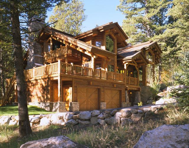 Teton Village Residence traditional-exterior