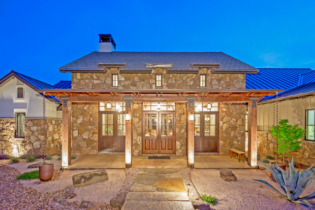 Texas Farmhouse_1 Story - Farmhouse - Exterior - Austin ...