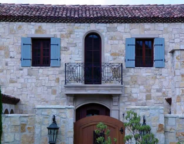 Texas Limestone traditional-exterior