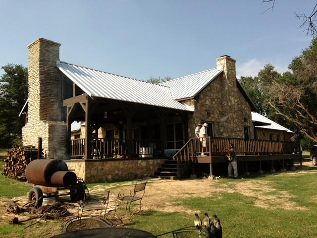 Texas Ranch House Rebirth Rustic Exterior Dallas