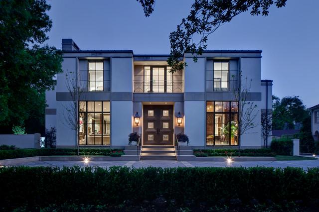 Texas Residence contemporary-exterior