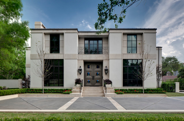 Texas Residence Contemporary Exterior Dallas By