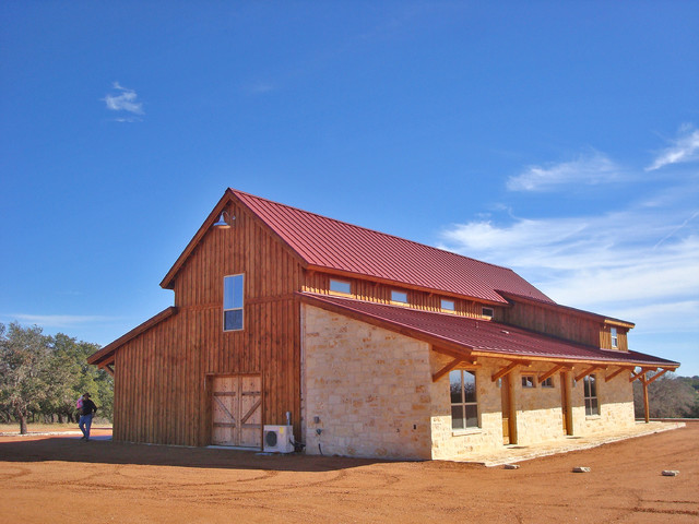 texas rustic barn home living rustic exterior other