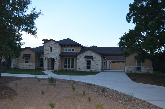 Stone And Stucco Homes Texas : Texas stone and stucco home