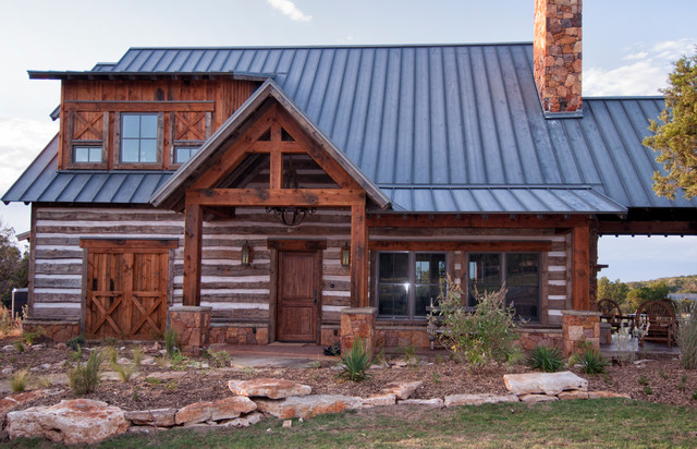 Texas Vacation Cabin Rustic Exterior Other By
