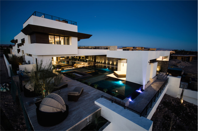 Superb The 2013 Nahb New American Home Modern Exterior Las Vegas Largest Home Design Picture Inspirations Pitcheantrous