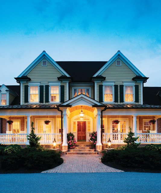 The Arbordale Plan 452 Traditional Exterior Charlotte by