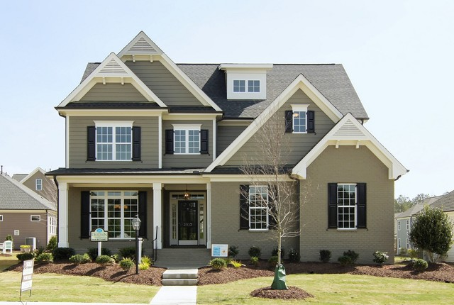 The Arramore Built By Homes By Dickerson In Raleigh And Wake Forest Nc Transitional