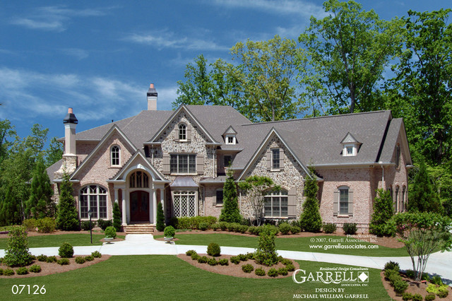 The Ashland Manor House Plan 07126 By Garrell Associates