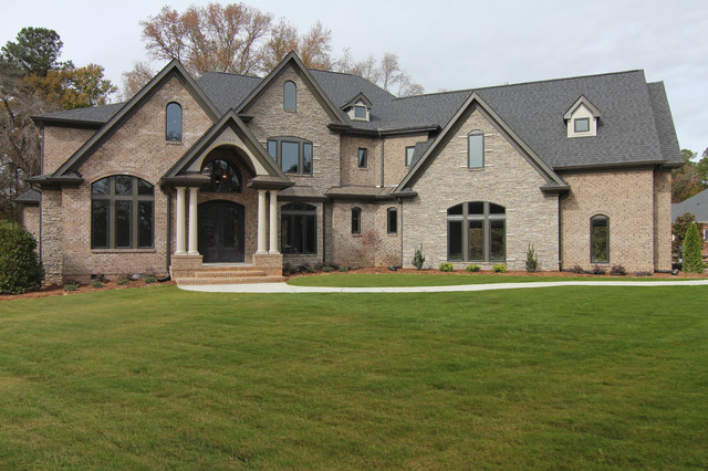 The Avonstone Manor Luxury Custom Home Raleigh Nc Traditional Exterior Raleigh By