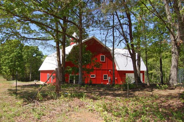The Barn House farmhouse-exterior