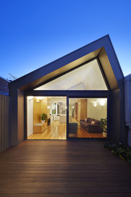 The Big Little House Modern Exterior Melbourne By