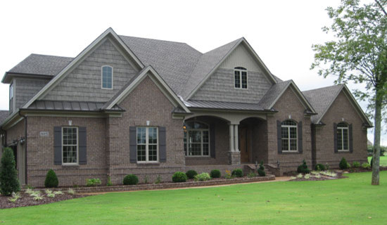 The Birchwood Plan 1239 Craftsman Exterior Charlotte By. Donald Gardner  Designs House ...