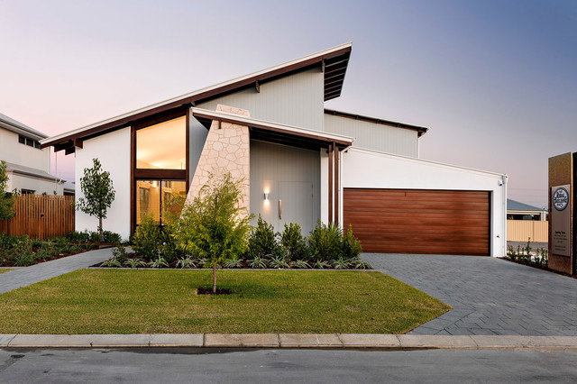 The bletchley loft contemporary exterior perth by for Loft home designs perth