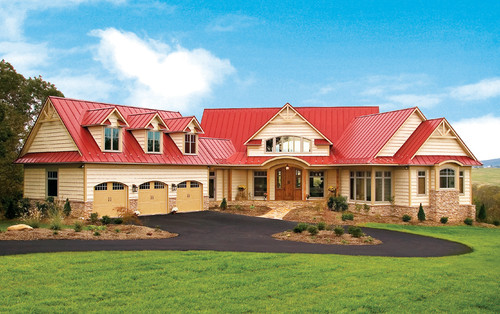 what color to paint house with red roof o2 pilates