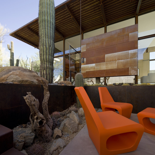 The Brown Residence modern-exterior