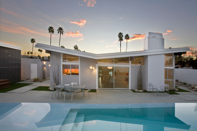 The butterfly house palm springs midcentury for Mid century modern furniture palm springs