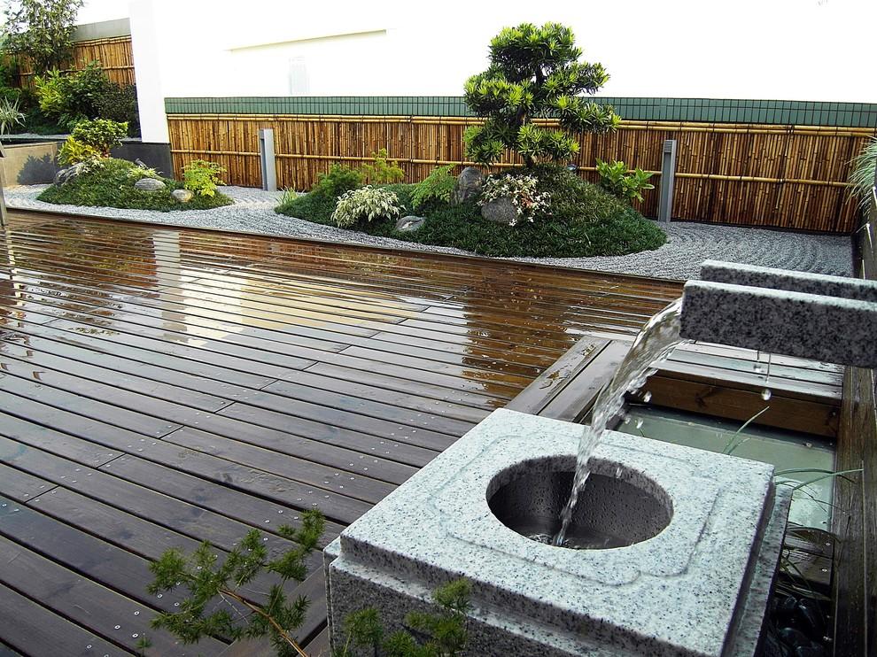 The Cairnhill Japanese Roof Garden Asian Exterior Hong Kong By Hunt Yen Consultants Ltd Garden Design