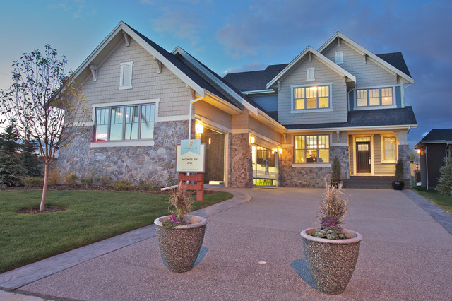 The Cambridge in Timberline eclectic-exterior