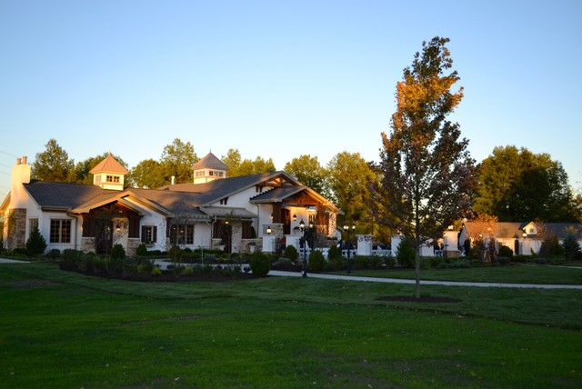 """The """"Carriage House"""" traditional-exterior"""